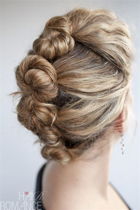 braids twists and buns easy diy wedding hairstyles