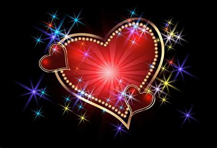 Image result for free images of heart lights