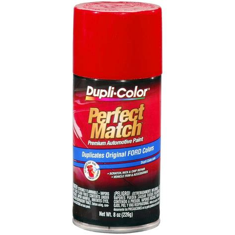duplicolor bfm for ford code e ea ep cardinal red