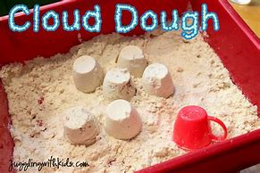 Image result for cloud dough