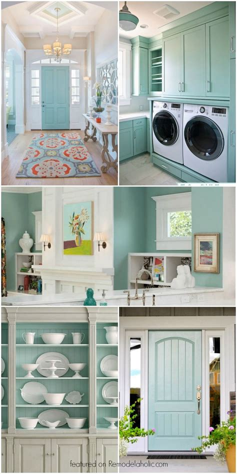 this beautiful light blue gray paint color is so versatile