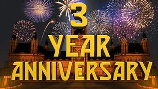 Image result for 3 year anniversary