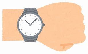 腕時計 イラストや に対する画像結果