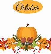 Image result for october leaves clip art