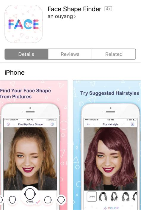 best face shape apps to help you choose the perfect hairstyle