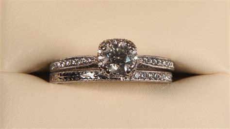 designer tacori womens wedding ring set very unique