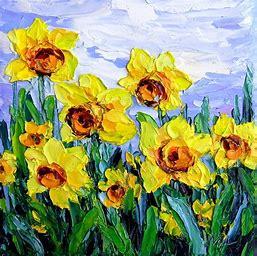 Image result for daffodil art