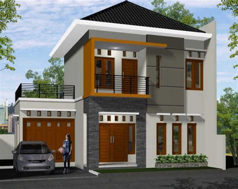 gambar rumah sederhana minimalis lantai desain rumah