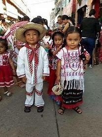 Image result for images mexican children with garlands