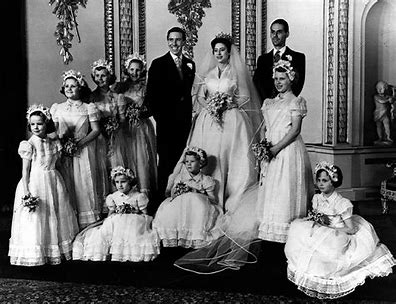 Image result for lord snowdon and princess margaret wedding images