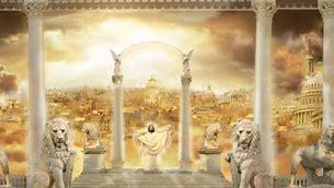 Image result for Heaven New Jerusalem Heavenly City