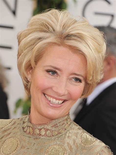emma thompson golden globes haircut my style