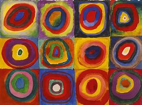 Image result for concentric circles kandinsky