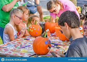 Image result for free images of kids decorating pumpkins