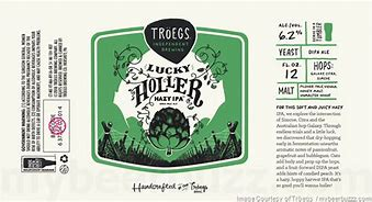 Image result for TROEGS HOLLER HAZY IPA
