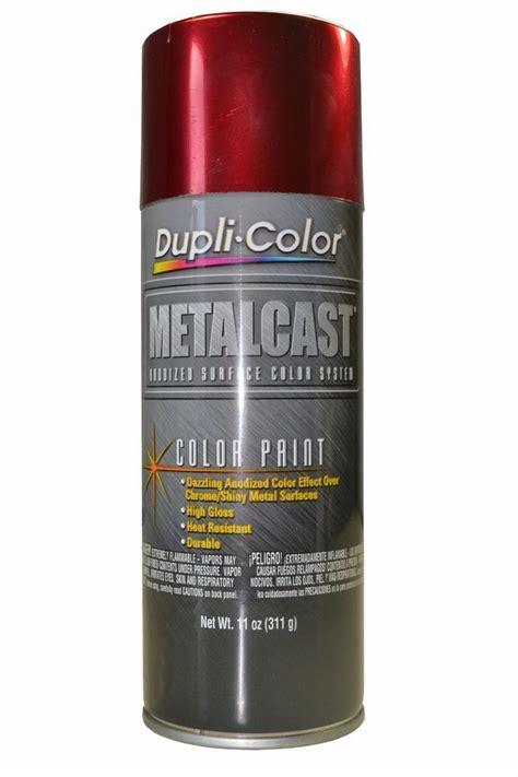 details about dupli color mc red metalcast anodized