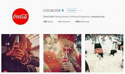 Image result for coca cola social media channel