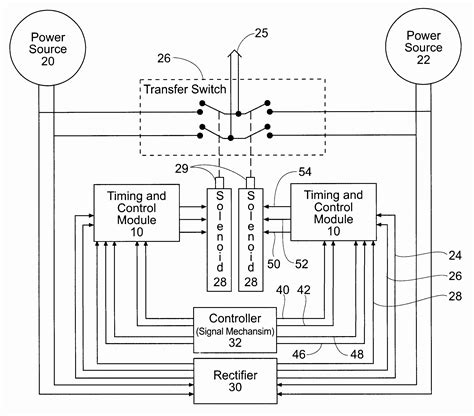 POLE TRANSFER SWITCH WIRING DIAGRAM SAMPLE