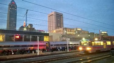 Image result for Cleveland Ohio Train