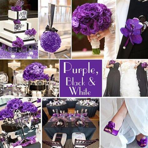 purple gray and white wedding decor wedding musings