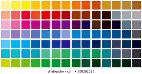 colour chart images stock photos vectors shutterstock