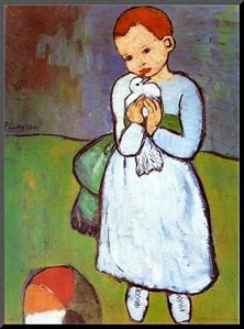 Image result for Child with a dove picasso