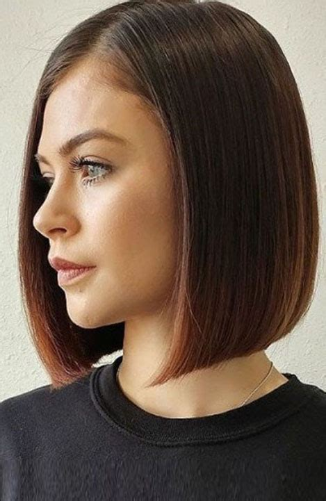 trendy blunt cut haircuts for women the trend spotter