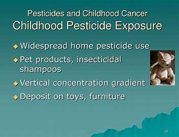 Image result for pesticides and childhood cancer