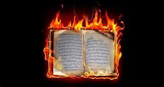 Bildresultat för bränna koranen