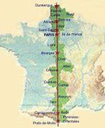 Résultat d'images pour images carte méridien de greenwich en france