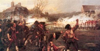 Image result for images of the Battle of Lexington