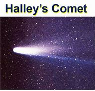 Image result for halley's comet images