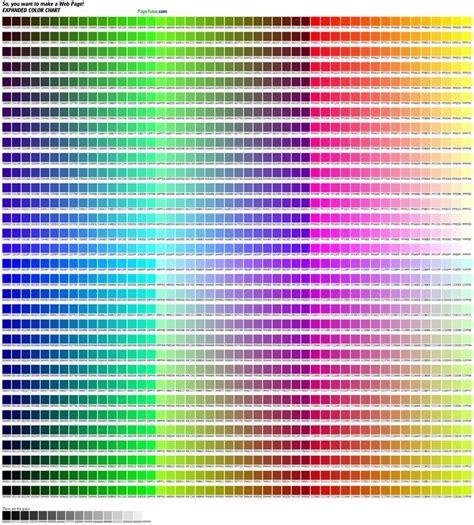 hex color chart art supplies pinterest colors