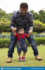 Image result for free picture of father walking toddler
