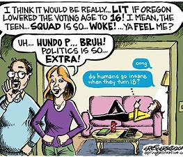 Image result for woke cartoons