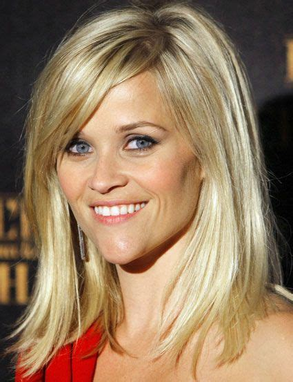 REESE WITHERSPOON LONG BOB HAIRCUT EASY HAIRSTYLES FOR