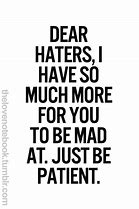 Image result for Motivational Quotes Haters
