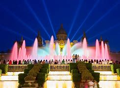 Image result for magic fountains of montjuïc downloadable images