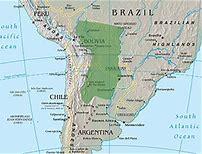 Résultat d'images pour carte géographique :plaine du chaco