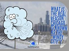 Image result for reason why chicago is called windy city