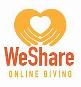 Image result for we share church giving