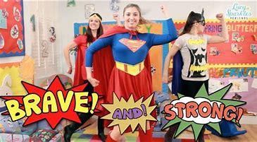 Image result for super hero dance sparkles