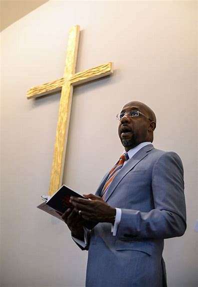 Georgia Pastor Raphael Warnock Has Potential To Take Senate Seat Away From Warring Republicans