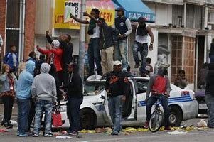 Image result for images violent crime in the ghetto