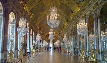Image result for images great hall of mirrors versailles