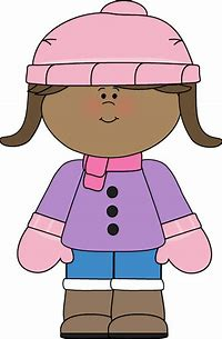 Image result for girl in snowpants clipart