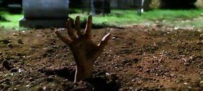 Image result for picture of body coming out of a grave