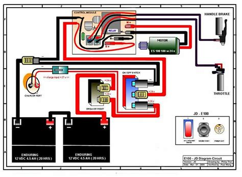 wiring diagram razor e electric scooter clipart best