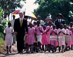 Image result for images bill clinton surrounded by black people