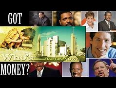 Image result for greedy preachers